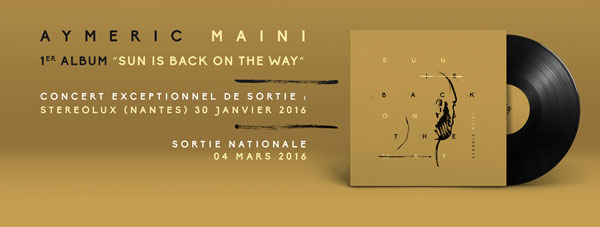 Album Aymeric Maini - Sun is back on the way